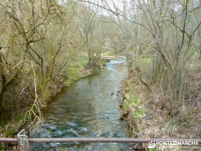 Barranco Río Dulce; campamentos de verano de la comunidad de madrid; mapas rutas senderismo;senderi